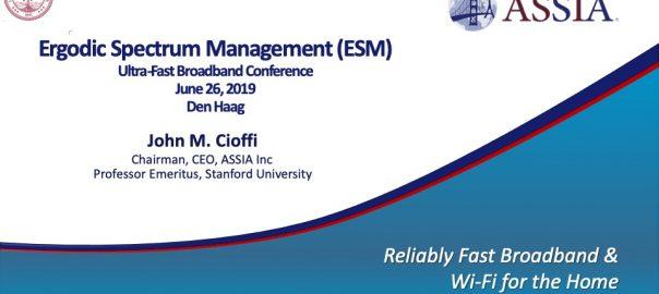 Ergodic Spectrum Management (ESM)